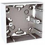 Schneider Electric U8.002.18 Zócalo 1 elemento, Blanco