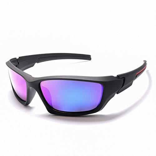 Sport Polarized Sonnenbrille Polaroid Sonnenbrille Nachtfahrspiegel Goggles UV400 Sonnenbrille For Männer Frauen De Sol Feminino (Lenses Color : KP1031 C2)