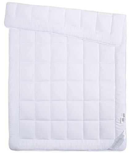 Bettdecke 135 x 200 cm in Hotelqualität - Mikrofaser - für Allergiker geeignet