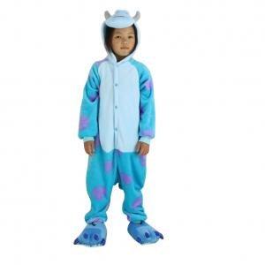 fanzug blau Sulley S (Sully Für Erwachsene Halloween-kostüm)