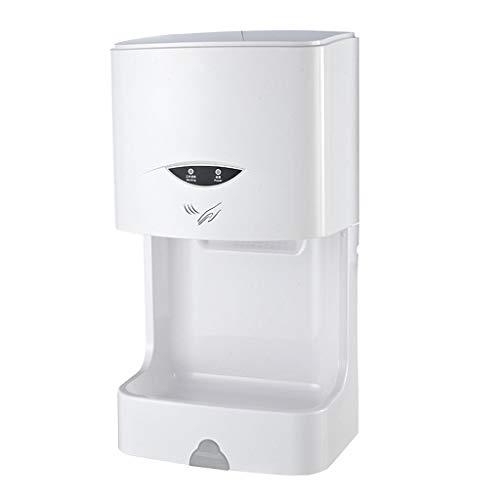 Händetrockner Handtrockner, vollautomatische elektrische an der Wand befestigte kommerzielle schnelle warme Luft (Color : White)