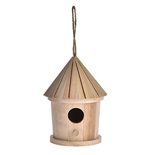 Pajareras, Nido De La Caja De Cría De La Casa del Pájaro para Colgar En El Exterior, Choza De Pájaro...