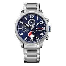 Tommy Hilfiger Analog Blue Dial Mens Watch-TH1791242J