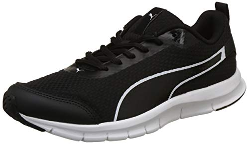 Puma Men's Black White Sneakers-8 UK/India (42 EU)(4060979206670)