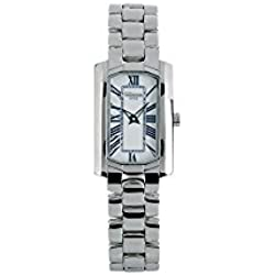 Rectangular watch Ladies watch with steel strap ALTANUS 16094