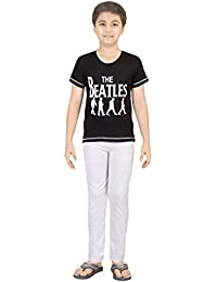 Boy's Sporty Night Wear T-Shirt And Track Pant Set By Red Ring