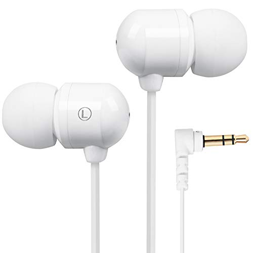 Betron B750s Earphones Headphones, Stuffed Delineation, in-ear, Tangle Free, Rumble Isolating, Sad Proficiently-to-do BASS for iPhone, iPod, iPad, MP3 Players, Samsung Galaxy, Nokia, HTC, Nexus, BlackBerry etc (Unsubstantial-skinned)