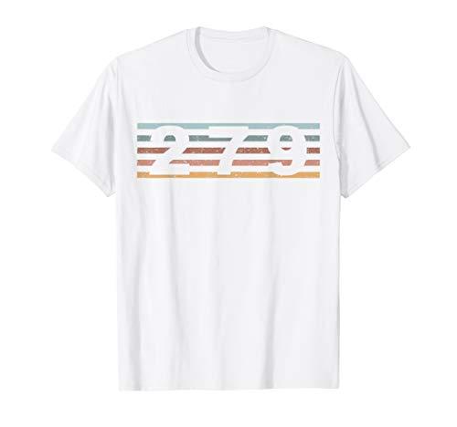 279 Vorwahl Retro Kalifornien Sacramento T-Shirt