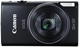 Canon IXUS 275 HS Compact Digital Camera - Black (20.2 MP, 12x Optical Zoom, 24x ZoomPlus, Wi-Fi, NFC) 3-Inch LCD