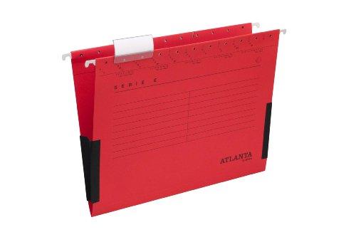 Preisvergleich Produktbild Jalema 2655624200 Serie E Hängetasche mit Leinenfröschen A4 rot
