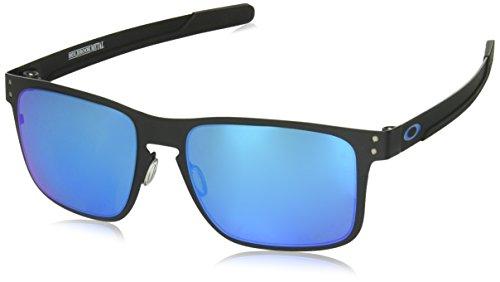 Oakley Herren Holbrook Metal Oo4123 412310 55 Mm Sonnenbrille, Schwarz (Matte Black), 55