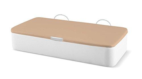 Naturconfort-Canap-Abatible-Tapizado-Apertura-Lateral-Tapa-3D-Ecopel-Blanco-Envio-y-Montaje-Gratis-Disponible-en-Todas-Las-Medidas