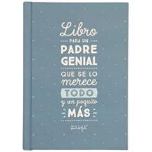 """Mr. Wonderful WOA03837ES - Libro """"Para un padre genial que se lo merece todo y un poquito más"""""""