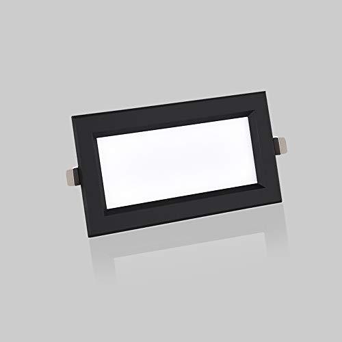 GLBS 12W Rectángulo Parrilla Integrado LED Luz De Panel De Techo Hogar...