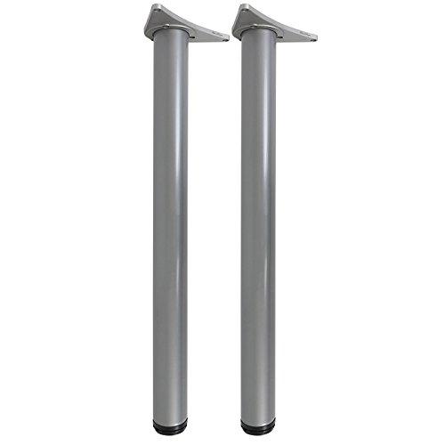 hartleys-gambe-per-tavolo-regolabili-710-730mm-coppia-argento