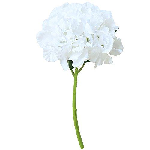 nkultur Kunstseide Kunstblumen Pfingstrose Blumenstrauß Braut Hortensie Dekor Künstlich Pfingstrosen Bouquet KüNstliche Blume Party Hochzeit Schlafzimmer Deko ()