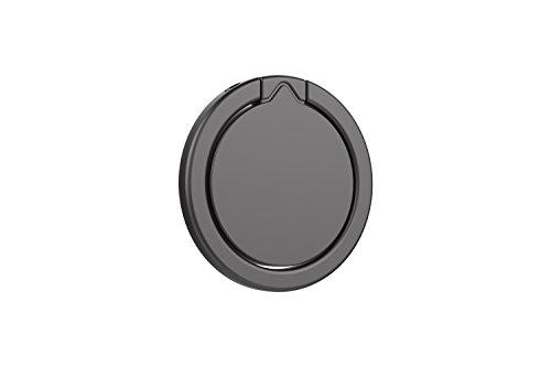 Kronya® | 360° drehbarer Smartphone Fingerhalter | Auto Finger Fitness Griff Halter Halterung Handy Ring Ringhalter Sport Ständer Tablet Apple iPhone iPad 7 8 10 X Samsung Galaxy S8 4 (Schwarz) - 6