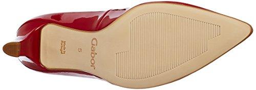 Gabor Shoes 61.25, Scarpe con Tacco Donna Rosso (cherry +Absatz 75)