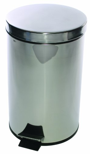 pedal-bin-stainless-steel-with-removable-plastic-liner-12-litres-d300xh460mm-ref-spc-pb12-ss