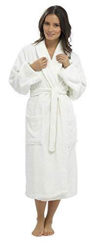816495b3579c2e Hari Deals Femmes 100 Pur% Coton de Luxe en Tissu éponge Peignoir de Bain  Robes