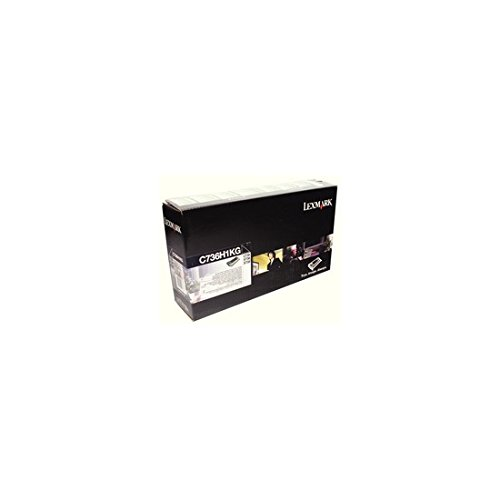 Lexmark Black High Yield Return Program Toner Cartridge Yield 12,000 lowest price