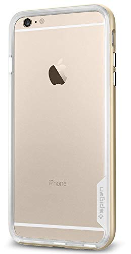 Spigen iPhone 6 Plus Case Neo Hybrid EX Series Champagne Gold SGP11061 (6 Series Spigen Hybrid Iphone Neo)