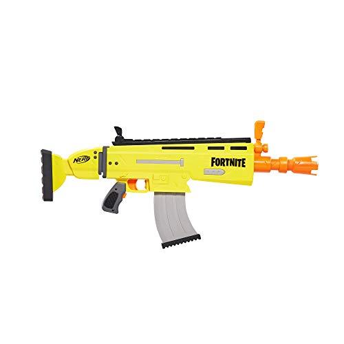 Hasbro Nerf Fortnite AR-L Prop Replica Elite Dart Blaster Roleplay (Ar Flipup Sights)