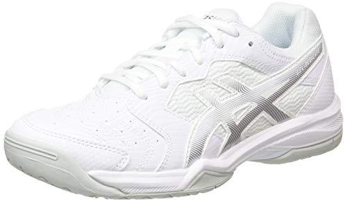 ASICS Damen Gel-Dedicate 6 Tennisschuhe, Weiß (White/Silver 101), 37 EU
