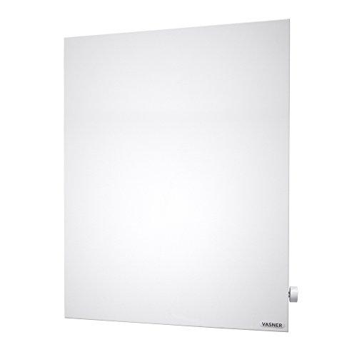 VASNER Konvi VE Hybrid Infrarotheizung mit Thermostat vertikal 1000 Watt, Elektroheizung, Thermostatregler, elektrische Heizung, Heizkörper mit Stecker -