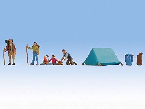 NOCH 0015876 H0 Figuren Camping