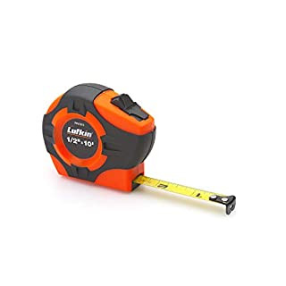 Lufkin Home Hand Tools Measuring & Layout PHV1035CMN Tape,19MMX5M,HI-VIZ Orange