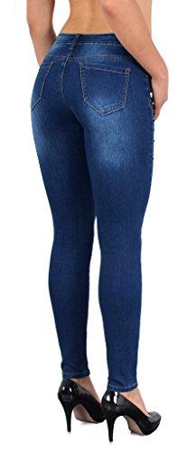 Jean femme skinny pantalon en jean vintage rétro fleur brodé jeans femmes J302 J169