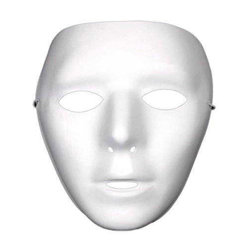 YAZILIND moda máscara fantasma de la cabeza enmascarada hip hop Street Dance fiesta de disfraces de Halloween Máscara de mascarada (mujeres)