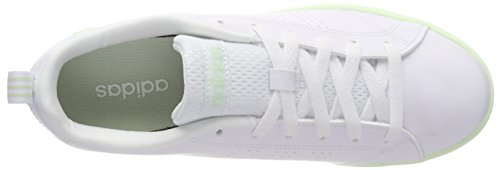 buy popular 3998f 1c504 ... adidas Damen Vs Advantage Clean Fitnessschuhe Elfenbein (Ftwr  Whiteftwr Whiteaero Green ...