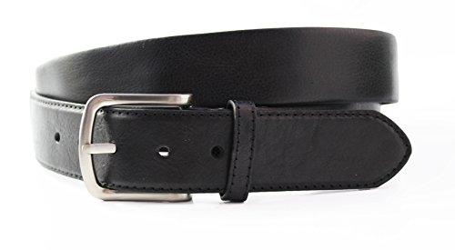 ekeepers - Leder Moneybelt - Undercover Unisex – Safe und Flach (95 B.W. (110 cm.), Schwarz) (Perth Target Stores)