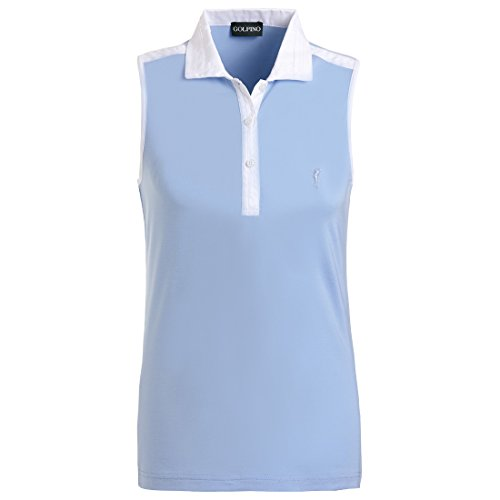 golfino-ladies-functional-golf-polo-with-moisture-management-in-soft-stretch-blue-xl
