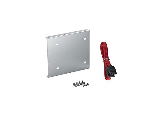 """reemas \' SSD Hard Disk in alluminio cornice per incasso Adattatore 2,5\"""" a 3,5per HDD/SSD S con cavo SATA e viti"""