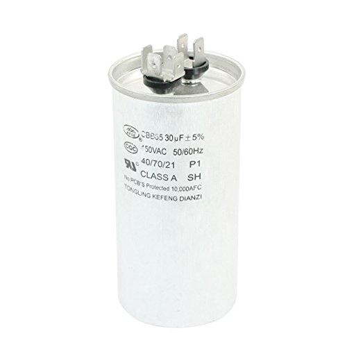 AC 450V 30uF 6 Terminals Klimaanlage Motor Run Kondensator CBB65