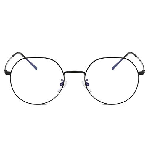 Junecat Retro Brillen Frauen Männer optische Gläser Runde Metallrahmen Jungen Mädchen Dekorative Weinlese-Brillen