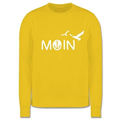 Up to Date Kind - Moin - 9-11 Jahre (140) - Gelb - JH030K - Kinder Pullover