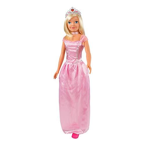 ColorBaby-Muñeca Princesa CB Toys, 105 cm, (44868)