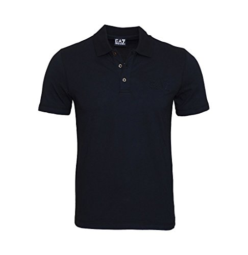 EA7 EMPORIO ARMANI Shirt Polohemd Poloshirt Polo schwarz 8NPF01 PJ48Z 1200 Nero HW16 Größe L