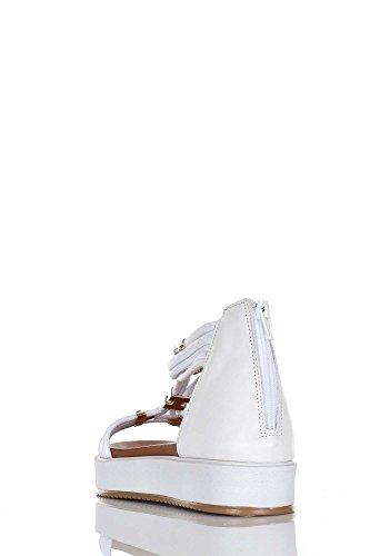 Inuovo 7387 Sandalo Donna Bianco