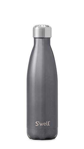 S'well Insulated Stainless Steel Water Bottle 17 Oz. Smokey Eye by Swell