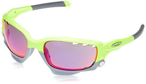 Oakley Unisex-Erwachsene Racing Jacket OO9171 Sonnenbrille, Gelb (Amarillo Flúor/Gris), 0