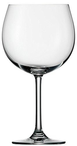 Copas Weinland para vino tinto tipo Borgoña de Stölzle Lausitz, de 650ml, juego de 6, copas tipo Borgoña compatibles con lavavajillas, copas para vino tinto tipo balón