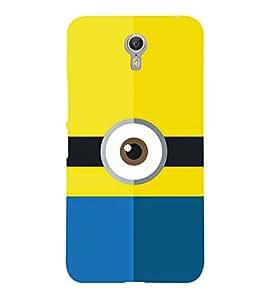 Cartoon Eye Design 3D Hard Polycarbonate Designer Back Case Cover for Lenovo Zuk Z2 Pro