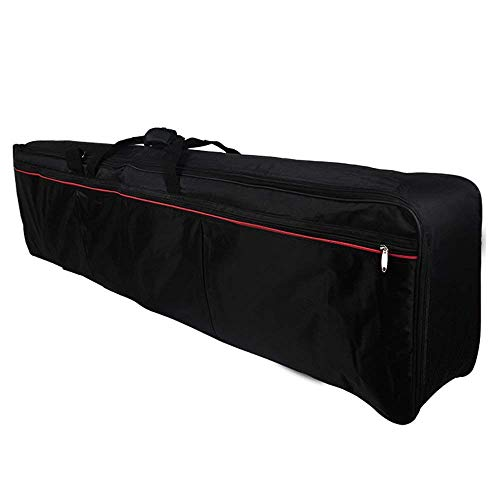 Andoer  Portable Keyboard 88-Key Elettrico Piano Caso Riempito Gig Bag in Tessuto Oxford