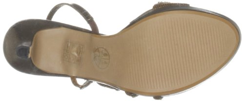 Unze Evening Sandals, Damen Sandalen Braun (L18453W)