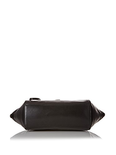 The Bridge Heritage Luxe Donna borsa a mano pelle 30 cm Nero